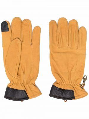 Rękawiczki zamszowe - żółte Timberland