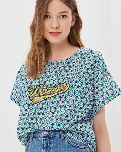 Блузка с коротким рукавом весенний Sisley