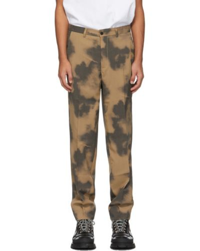 Шерстяные брючные черные брюки с поясом Schnaydermans