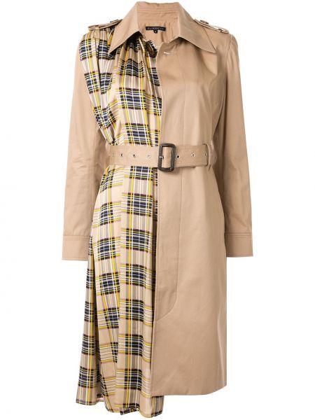 Пальто классическое с капюшоном с воротником Blindness
