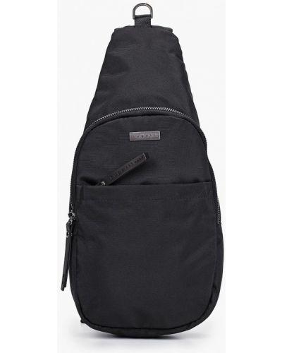 Текстильный городской черный рюкзак Bugatti
