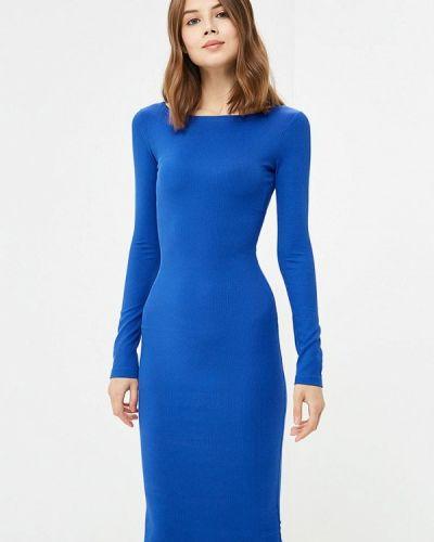 Платье осеннее синее Ribbon