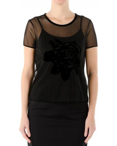 Блузка - черная Armani Jeans