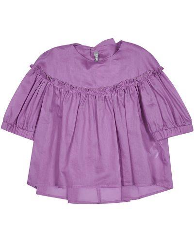 Fioletowa koszula Il Gufo