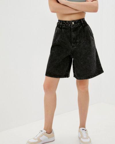 Джинсовые шорты - черные Sela