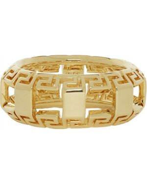 Pierścień ze złota Versace