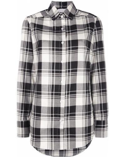 Свободная черная рубашка на пуговицах Dresshirt