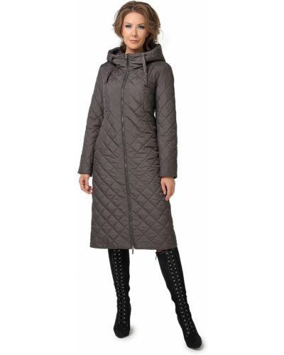 Модное длинное пальто с капюшоном с воротником Dizzyway