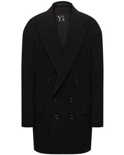 Шерстяной пиджак - черный Y`s