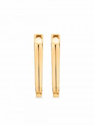 Серьги позолоченные - золотые Monica Vinader