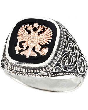 Кольцо серебряный с декоративной отделкой F.it