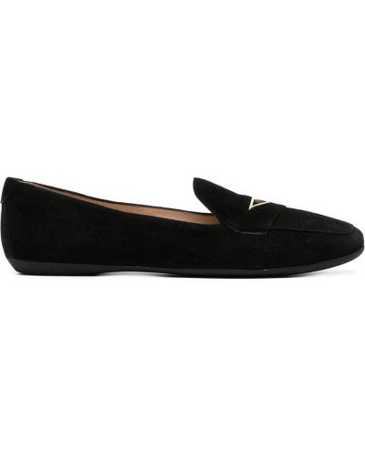 Czarne loafers skorzane Nicholas Kirkwood