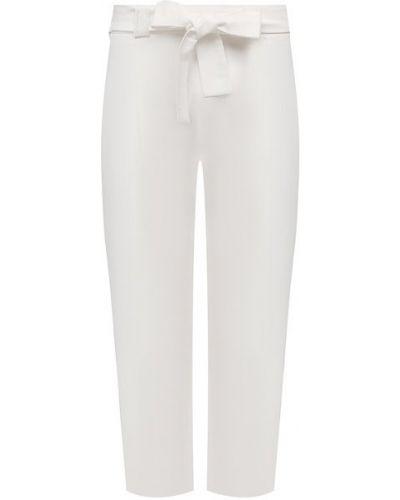 Льняные бежевые брюки La Fabbrica Del Lino