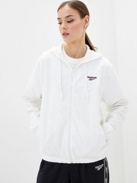 Белая классическая куртка Reebok Classics