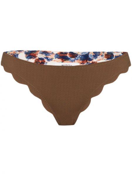 С заниженной талией коричневые бикини с подкладкой Marysia