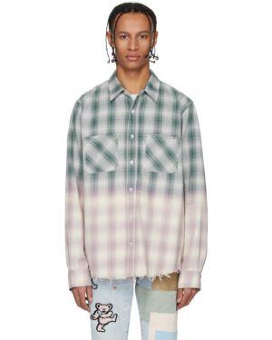 Koszula z długim rękawem karmazynowy długa Amiri