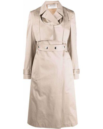 Ватное серебряное пальто классическое с карманами 1017 Alyx 9sm