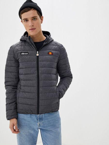 Утепленная куртка осенняя серая Ellesse