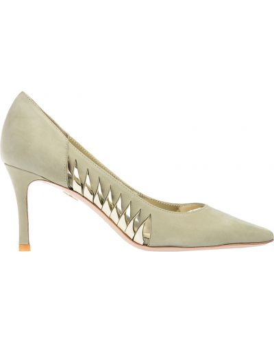 Кожаные туфли осенние на каблуке Giorgio Fabiani