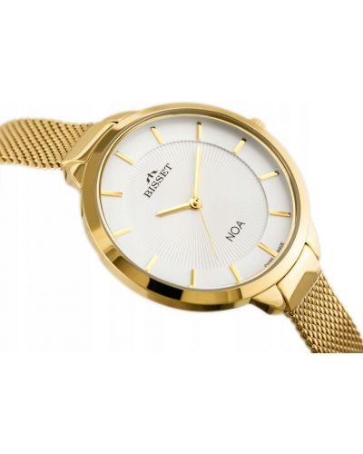 Klasyczny złoty zegarek Bisset