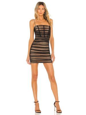 Черное платье с подкладкой Nookie