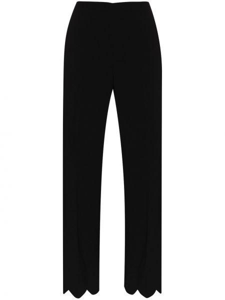 Czarny spodni spodnie Miu Miu
