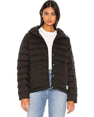 Нейлоновая куртка с капюшоном мятная The North Face