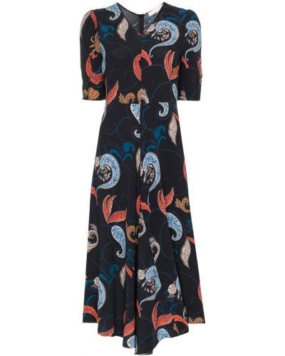 Платье мини миди с V-образным вырезом See By Chloé