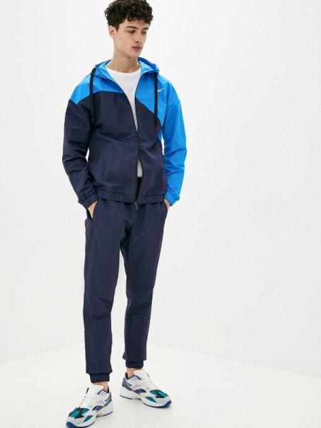 Синий костюмный спортивный костюм Reebok