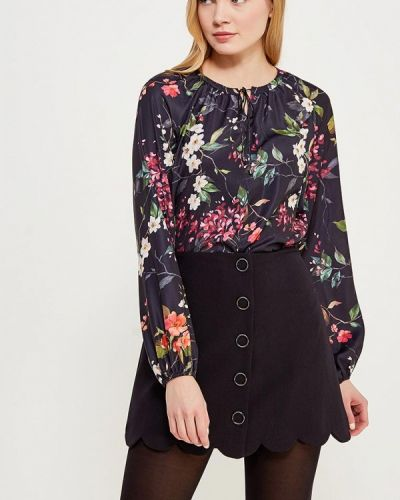 Черная блузка Zarina