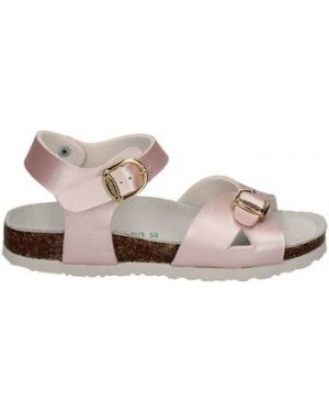 Różowe sandały Bionatura