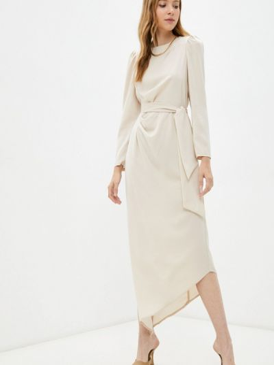 Вечернее платье - бежевое Moki