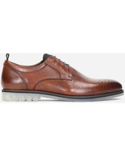 Туфли - коричневые Kazar