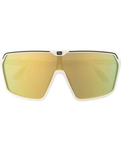 Białe złote okulary Rudy Project