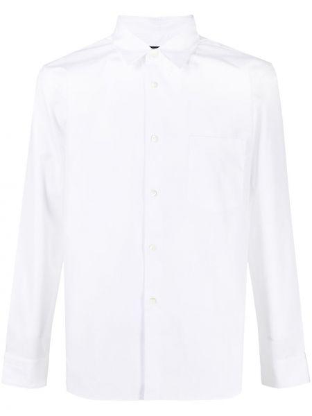 Koszula bawełniana w paski z długimi rękawami Comme Des Garcons Homme Deux