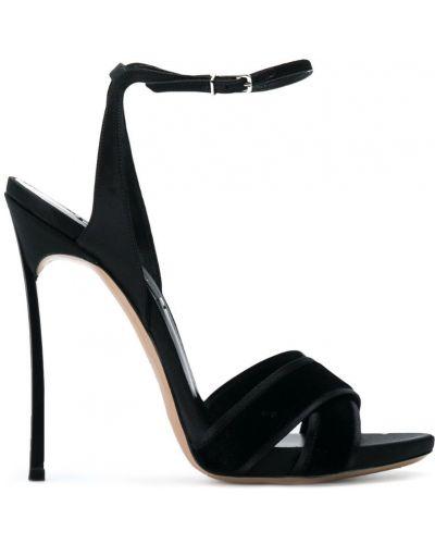 Босоножки на каблуке на шпильке на высоком каблуке Casadei