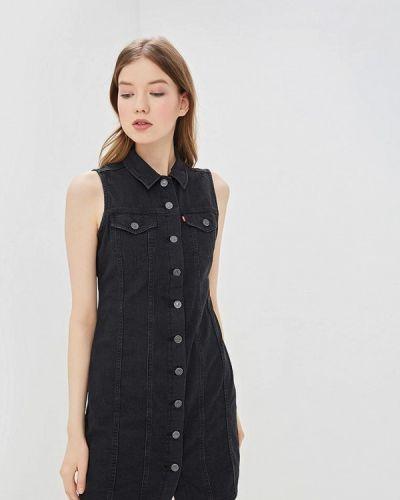 Джинсовое платье черное Levi's®