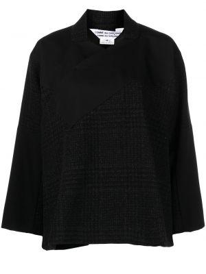 Рубашка в клетку - черная Comme Des Garçons Comme Des Garçons