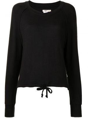 Piżama z wiskozy - czarna Ugg