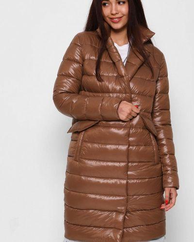 Коричневая демисезонная куртка Carica&x-woyz