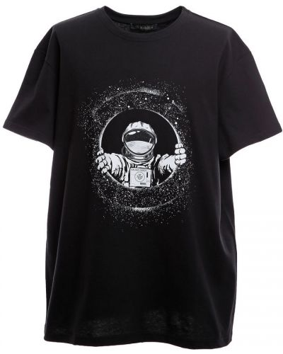 Czarna koszulka oversize Mr&mrs Italy