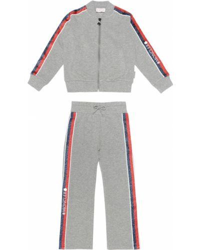 Спортивный костюм с логотипом Moncler Enfant
