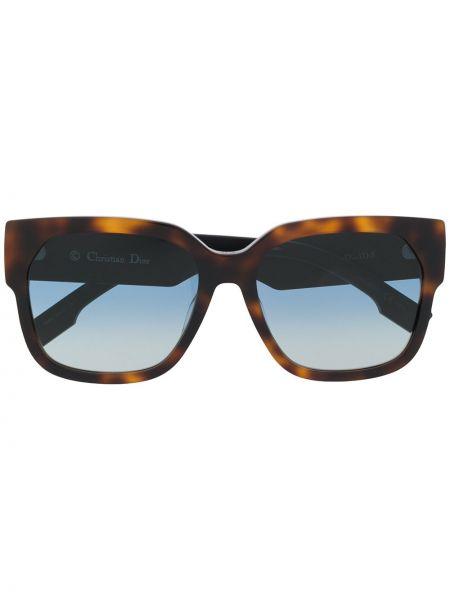 Okulary przeciwsłoneczne dla wzroku prostokątny khaki Dior Eyewear