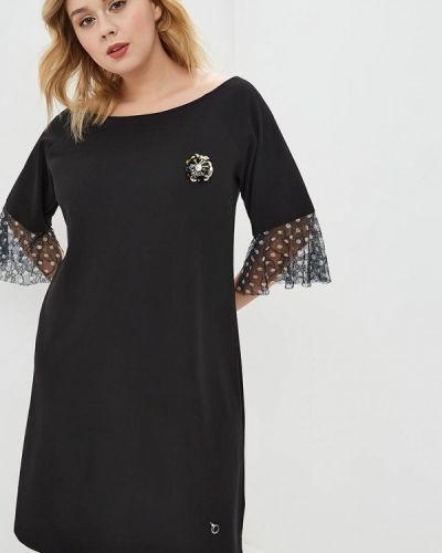 Вечернее платье итальянский черное Over