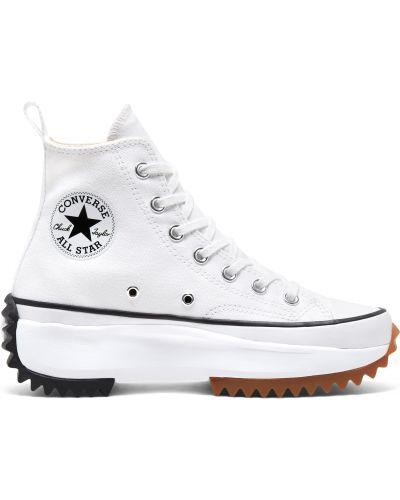 Домашний белый топ на шнуровке Converse