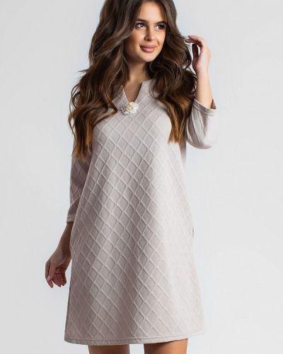 Платье осеннее прямое Modna Anka
