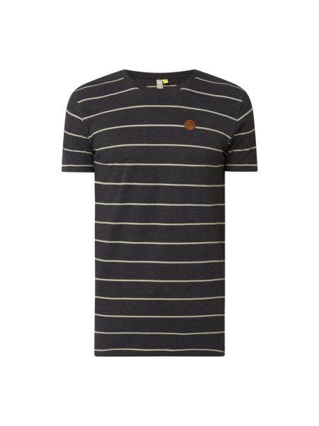T-shirt bawełniana - czarny Alife And Kickin