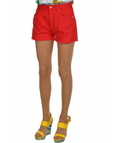 Хлопковые шорты - красные Mauro Grifoni