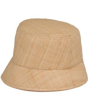 Beżowy kapelusz Prada