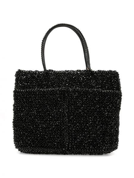 Черная сумка-тоут Anteprima